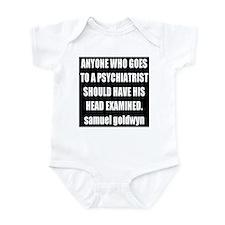 goldwyn quote Infant Bodysuit