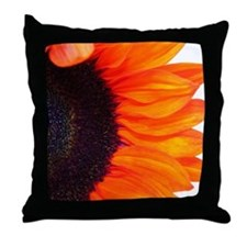 Throw Pillow with great sunflower print