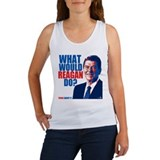 What Would Reagan Do? Design Women's Tank Top
