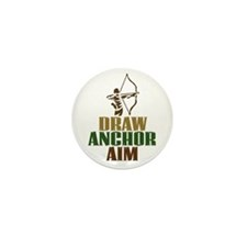 Draw. Anchor. Aim. Mini Button (10 pack)