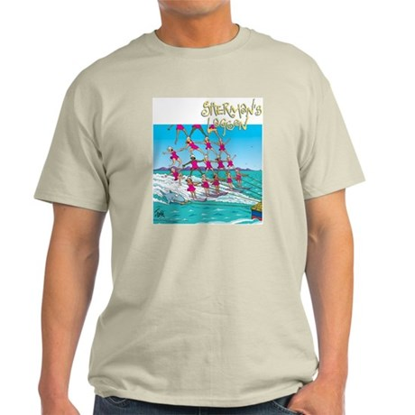 Waterskiing Light T-Shirt