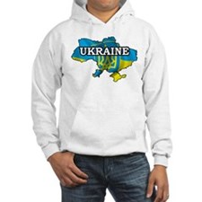Map Of Ukraine Hoodie