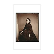 Mary Todd Lincoln Rectangle Sticker