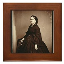 Mary Todd Lincoln Framed Tile