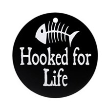 Hooked for Life Ornament (Round)