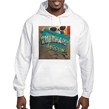 Postcard Greetings Hooded Sweatshirt