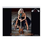 D's Girls-N-Guitars Wall Calendar