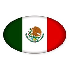 Mexico Oval Decal