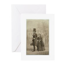 Abraham & Mary Todd Lincoln Greeting Cards (Pk of