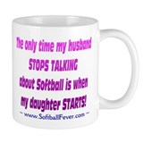 Husband Talks Small Mug