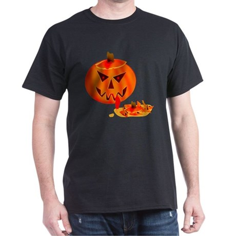 Cannibal Jack-O-Lantern Dark T-Shirt