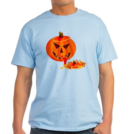 Cannibal Jack-O-Lantern Light T-Shirt