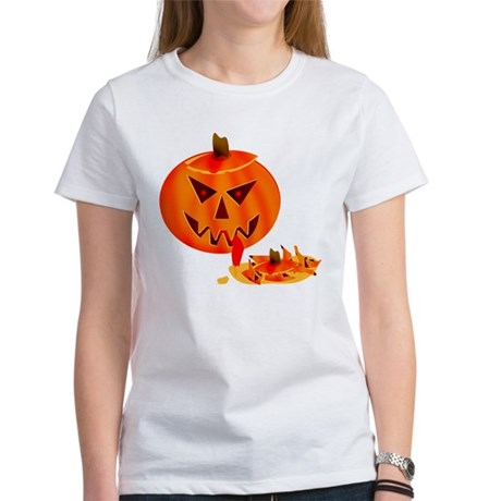 Cannibal Jack-O-Lantern Women's T-Shirt