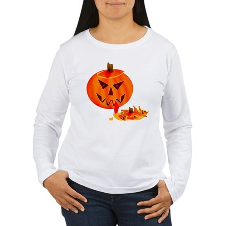 Cannibal Jack-O-Lantern Women's Long Sleeve T-Shir