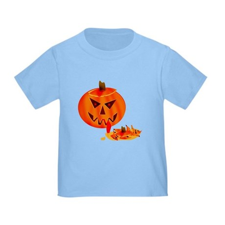 Cannibal Jack-O-Lantern Toddler T-Shirt