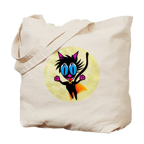 Black Cat...Away! Tote Bag