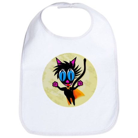 Black Cat...Away! Bib