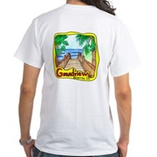 Grandview Beach men's white T-Shirt