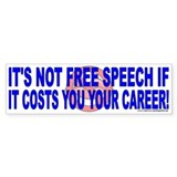 Free speech (sticker)