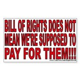 &amp;quot;Bill&amp;quot; of Rights (sticker)
