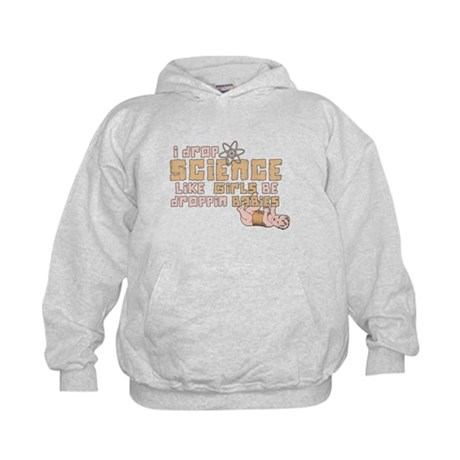 I Drop Science Kids Hoodie