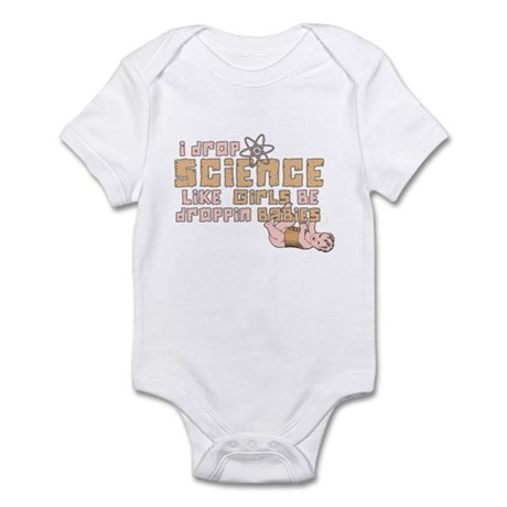 I Drop Science Infant Bodysuit