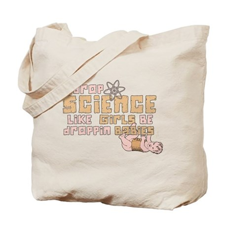 I Drop Science Tote Bag