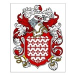 Bertram Coat of Arms Small Poster