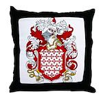 Bertram Coat of Arms Throw Pillow