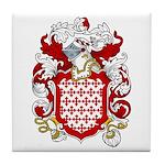 Bertram Coat of Arms Tile Coaster