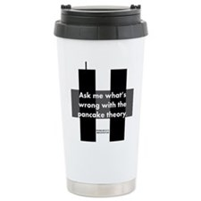 Pancake Theory Ceramic Travel Mug