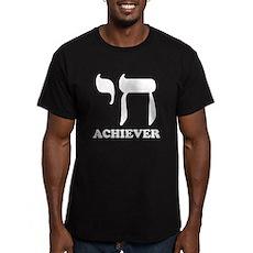 Chai Achiever Mens Fitted Dark T-Shirt