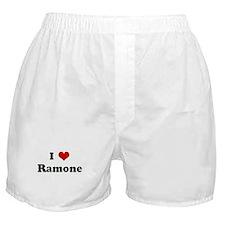 I Love Ramone Boxer Shorts