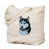 Husky Dog Tote Bag
