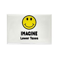 Cool Tax relief Rectangle Magnet