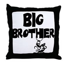 Big Brother (Monkies) Throw Pillow