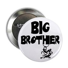 "Big Brother (Monkies) 2.25"" Button"