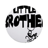 Little Brother (Monkies) Ornament (Round)