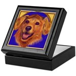 Dog Bereavement Treasure Altar Keepsake Box