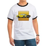Yellow w/Black Stripes El Camino T