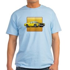 Yellow w/Black Stripes El Camino T-Shirt