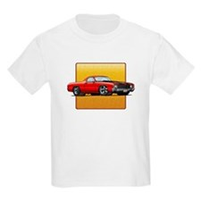 Red w/Black Stripes El Camino T-Shirt