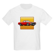 Red w/White Stripes El Camino T-Shirt