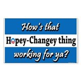 Hopey Changey Rectangle Decal