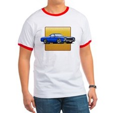 Blue w/White Stripe El Camino T