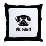 OLD SCHOOL 1 Throw Pillow