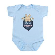Babys 1st Easter Bunny Onesie