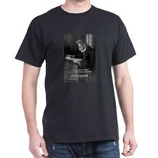Truth Existentialism: Soren K Black T-Shirt