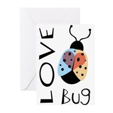 Love Bug Greeting Cards (Pk of 10)