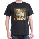I Love Dogs Dark T-Shirt